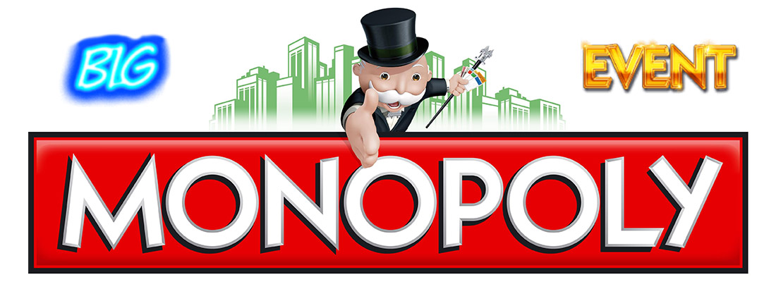monopoly big event slot game banner