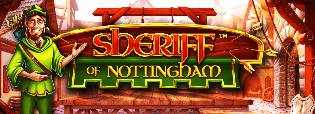 sheriff of nottingham slot game banner