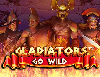 gladiators go wild slot game thumb