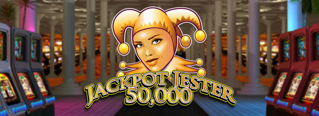 jackpot jester 50000 slot game banner