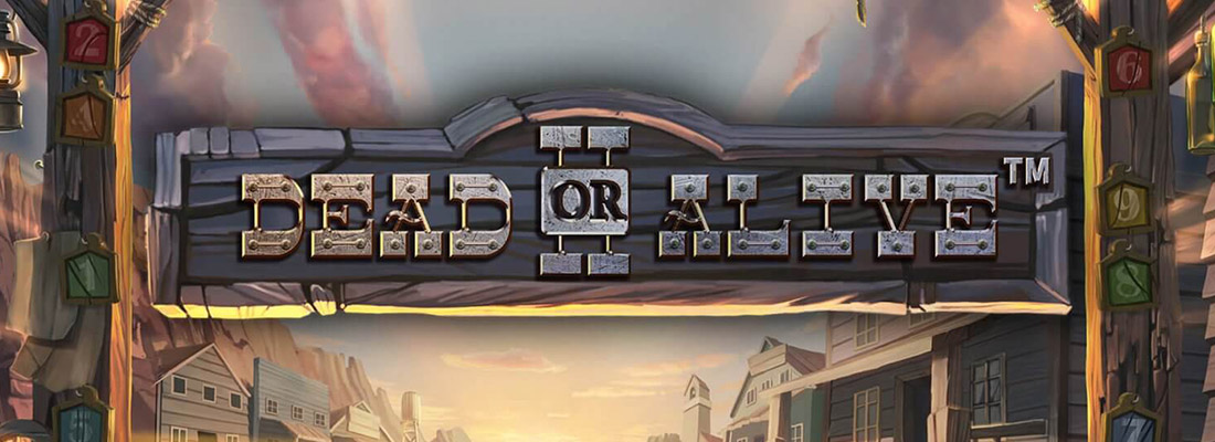 dead or alive 2 slot game banner