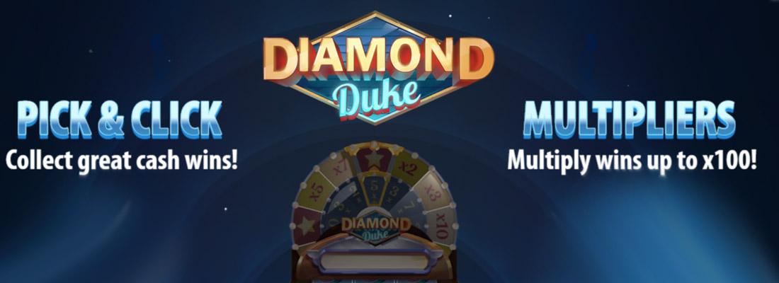 diamond duke slot game banner
