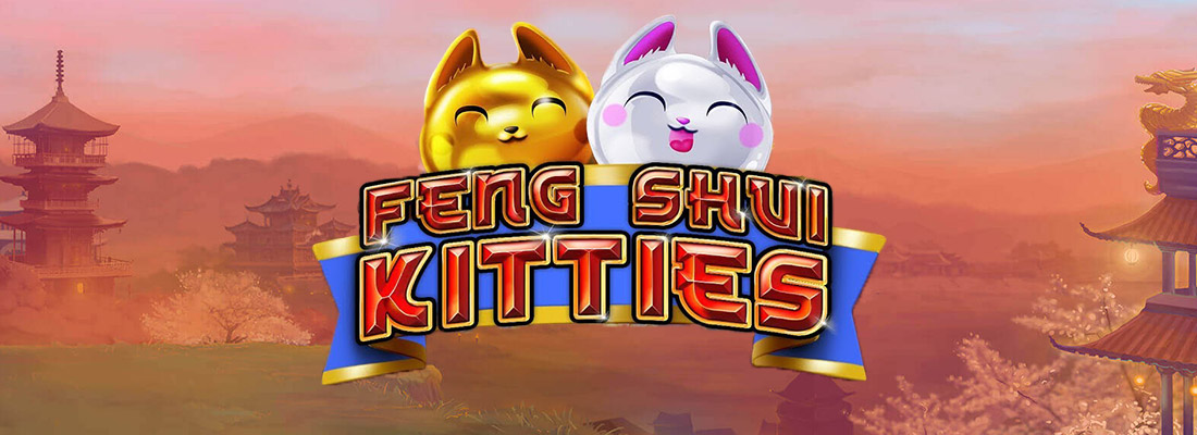feng shui kitties slot game banner