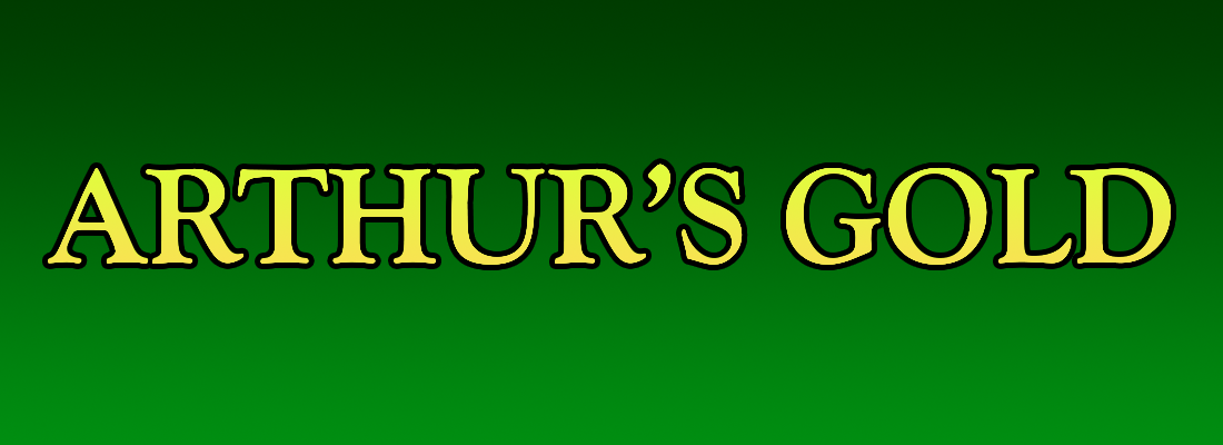 arthurs gold slot game banner