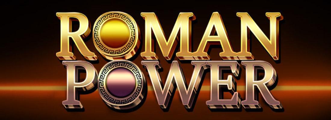 roman power slot game banner
