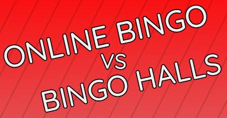online bingo vs bingo halls