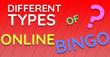 different types of online bingo